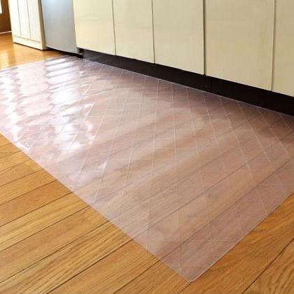 DPF(ダイヤプラスフィルム) キッチン床面保護マット クリスタルダイヤマット 80cm×270cm 送料込!【代引・同梱・ラッピング不可】