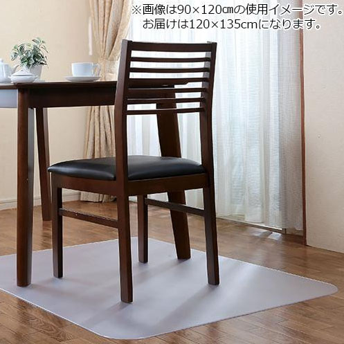 Achilles アキレス 透明チェアマット 120×135cm 38 送料無料!