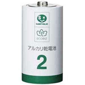 ジョインテックス アルカリ乾電池III 単2×100本 N212J-10P-10 送料無料!