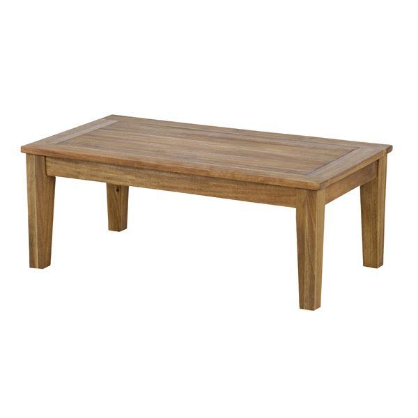 センターテーブル【Arunda】アルンダ 木製(アカシア オイル仕上げ) NX-701 Sサイズ(90×50cm)【組立品】 送料込!