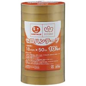 ジョインテックス セロハンテープ18mm×50m200巻 B642J-200 送料込!