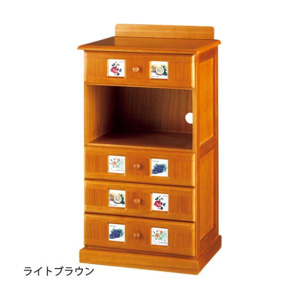 サイドボード/リビングボード (南欧風家具) 【2: 幅45cm】 木製 ホワイトウォッシュ 【完成品】 送料込!