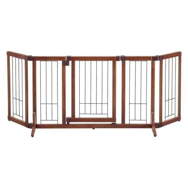 リッチェル 木製おくだけドア付ゲート M 【ペット用品】 送料無料!