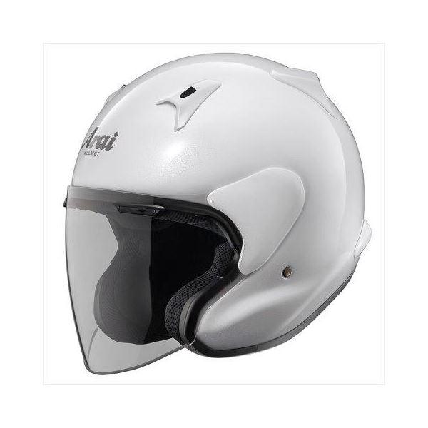 アライ(ARAI) ジェットヘルメット MZ-F グラスホワイト XO 63-64cm 送料無料!