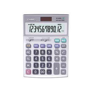 カシオ CASIO 本格実務電卓 12桁 デスクタイプ DS-20WK 1台 送料無料!