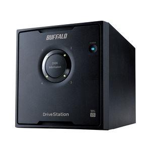 バッファロー ドライブステーション RAID 5対応 USB3.0用 外付けHDD 4ドライブモデル16TB HD-QL16TU3/R5J 送料無料!
