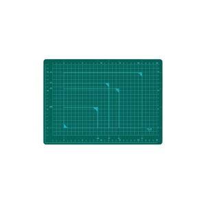 (業務用100セット) プラス カッターマット A4 GR CS-A4 緑 送料込!