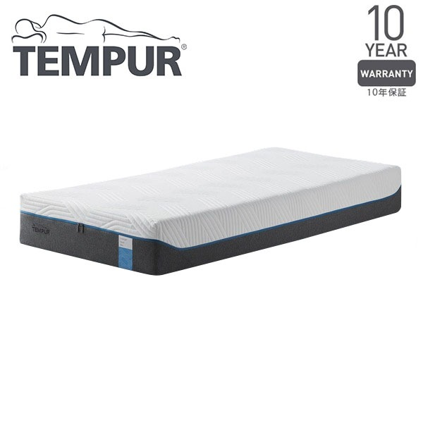 TEMPUR やわらかめ 低反発マットレス シングル『クラウドエリート25 ~厚みのあるテンピュールESで包み込まれる感触~』 正規品 10年保証付き【代引不可】 送料込!