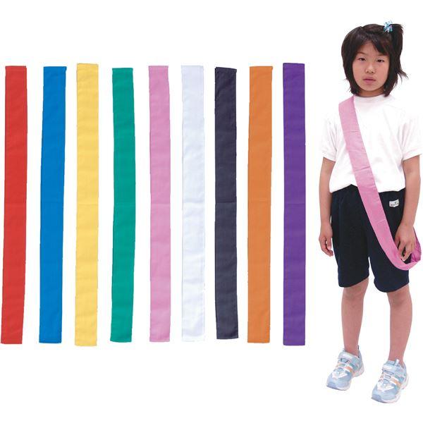 (まとめ)アーテック カラーたすき/襷 【巾60mm×1.5m】 綿100% ホワイト(白) 【×40セット】 送料込!