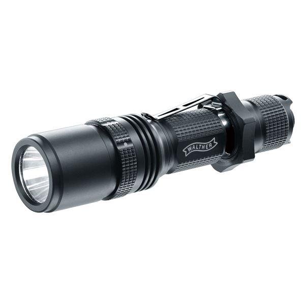 LEDフラッシュライト(懐中電灯) アルミニウムボディ 3段階照度調整可 ワルサー RLS450 送料無料!