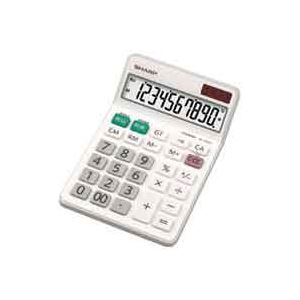 (業務用40セット) シャープ SHARP 電卓 10桁 EL-N431X 送料込!