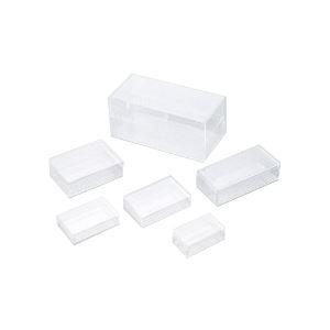 実験器具 必需品 消耗品 (人気激安) 実験用容器 プラスチック製 角型スチロールケースNo10 送料込 ×3セット トレンド まとめ 10個組