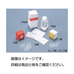(まとめ)スンプ台紙 (100枚)【×5セット】 送料込!