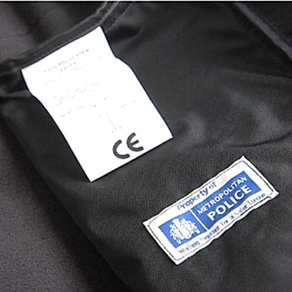 ロンドン警視庁放出 ポーラテックフリースジャケット ブラック未使用デットストック 《95-167》 送料込!