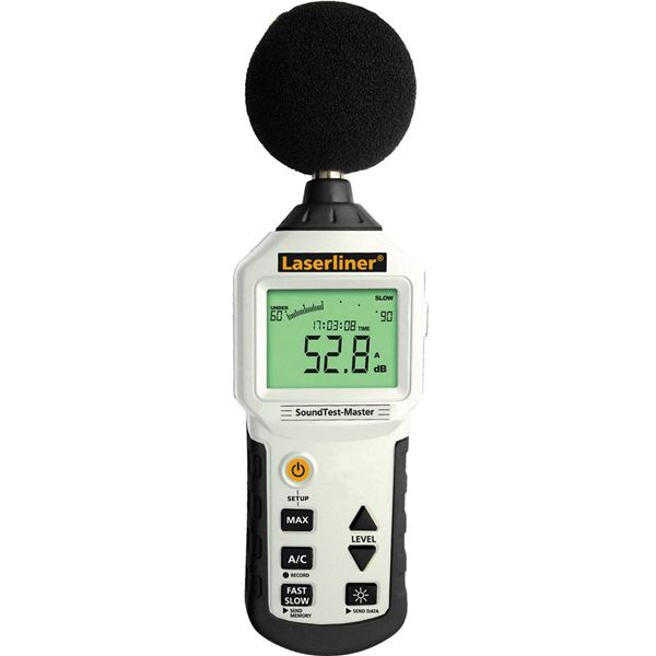 騒音計 (音量測定器/環境測定器) ウマレックス 防風スポンジ/データロガー機能付き 【日本正規品】 サウンドテストマスター 送料無料!