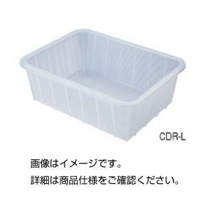 (まとめ)深型バスケット(クリア)CDR-M【×5セット】 送料込!