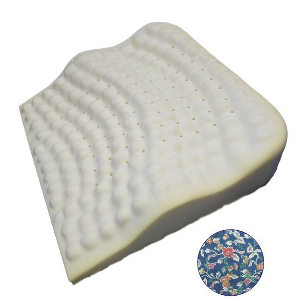 低反発枕/ピロー 【背中フィット】 洗えるカバー付き(フラワーガーデン) 送料込!