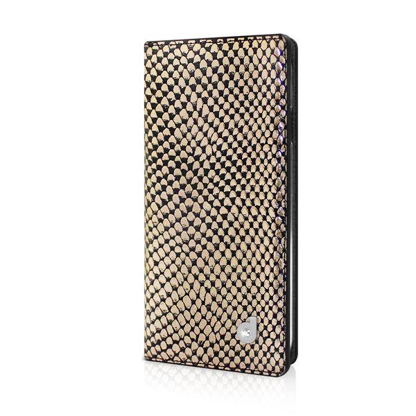 dreamplus iPhone6 シークレットポケットお財布ダイアリーケース ゴールド 送料無料!