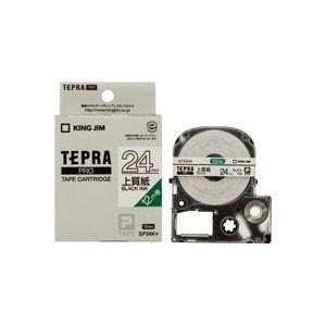 (業務用30セット) キングジム テプラ PROテープ/ラベルライター用テープ 【紙ラベルタイプ/幅:24mm】 SP24K ホワイト(白) 送料込!