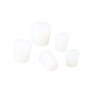 (まとめ)シリコンゴム栓 No3【×100セット】 送料込!