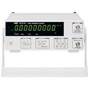 A&D(エーアンドデイ)電子計測機器 周波数カウンター(1.5GHz)AD-5184【代引不可】 送料無料!