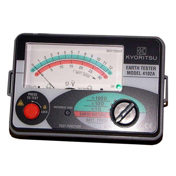 共立電気計器 キューアース・接地抵抗計(ソフトケース付) 4102A【代引不可】 送料無料!
