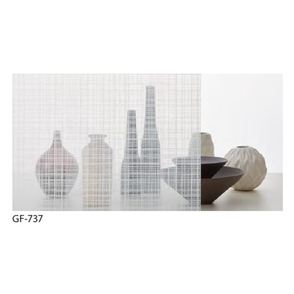 ファブリック 飛散防止ガラスフィルム サンゲツ GF-737 92cm巾 8m巻 送料込!