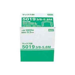 (業務用20セット) マックス ボステッチ針5019 3/8-5.8M 5800本 ×20セット 送料無料!