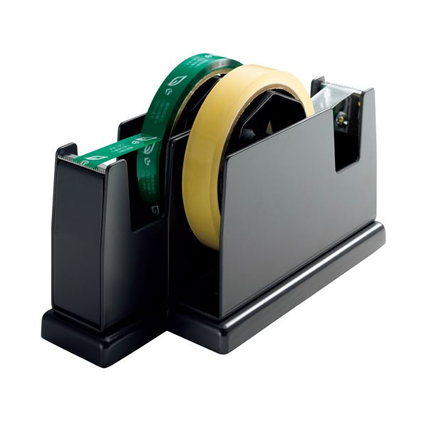(まとめ) オープン工業 ペアカッター 大巻・小巻両用 W82×D200×H109mm 黒 TD-200-BK 1台 【×4セット】 送料無料!