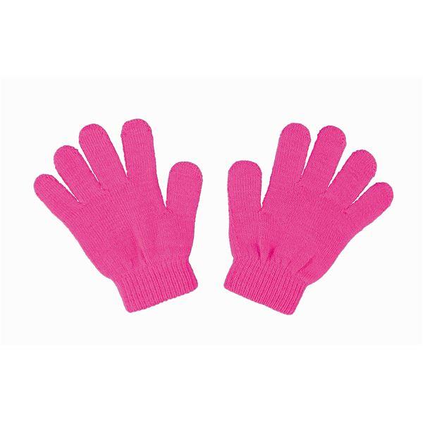 (まとめ)アーテック カラーのびのび手袋 【子供用サイズ】 アクリル製 蛍光ピンク 【×40セット】 送料込!