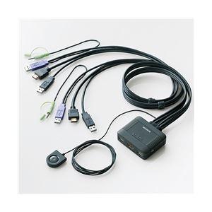 エレコム フルHD対応 HDMI対応パソコン切替器 送料無料!