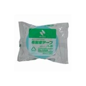 (業務用100セット) ニチバン カラー布テープ 102N-50 50mm*25m ライト青 送料込!