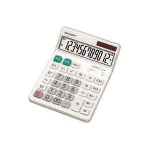 (業務用30セット) シャープ SHARP 電卓 12桁 EL-S452X 送料込!