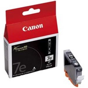 (業務用5セット) Canon キヤノン インクカートリッジ 純正 【BCI-7eBK】 6本入り ブラック(黒) ×5セット 送料込!
