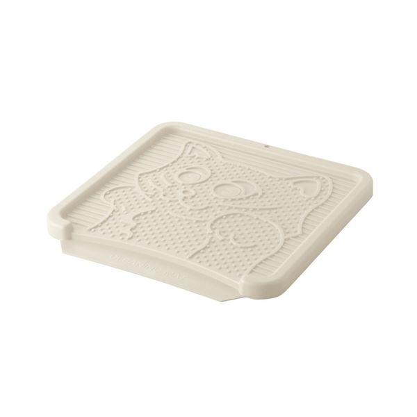 リッチェル NEWコロル 猫の砂取りマット ベージュ(猫用・フード)【ペット用品】