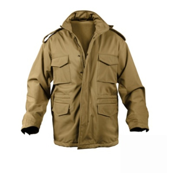 ROTHCO(ロスコ) ソフトシェルタクティカル M65フィールドジャケット ROGT140980 コヨーテ ブラウン M 送料無料!