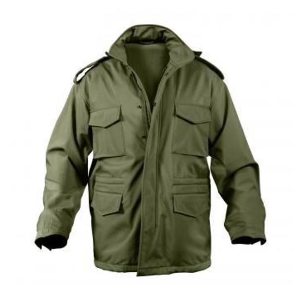 ROTHCO(ロスコ) ソフトシェルタクティカル M65フィールドジャケット ROGT140980 オリーブ S 送料無料!