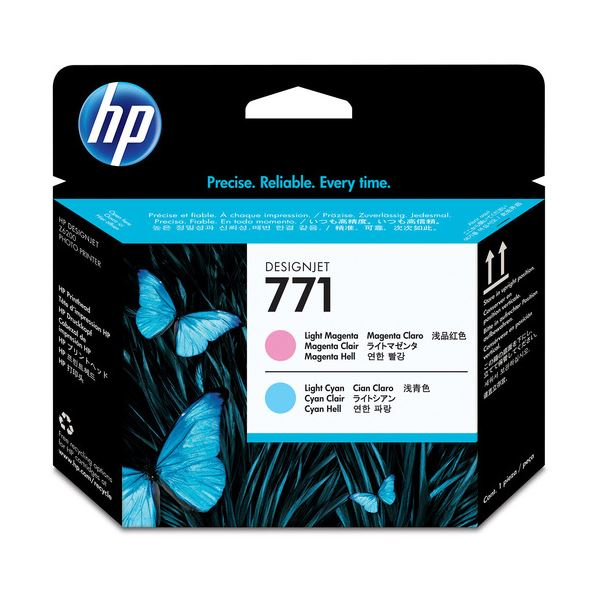 (まとめ) HP771 プリントヘッド ライトマゼンタ/ライトシアン CE019A 1個 【×3セット】 送料無料!