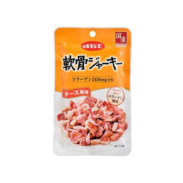 (まとめ) デビフ 軟骨ジャーキー チーズ風味 45g 【犬用フード】【ペット用品】 【×48セット】 送料無料!