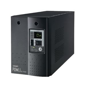 オムロン 無停電電源装置(常時インバータ給電) 750VA/500W:縦置 送料込!