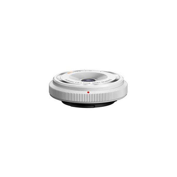 OLYMPUS フィッシュアイボディーキャップレンズ ホワイト BCL-0980WHT BCL0980WHT 送料無料!
