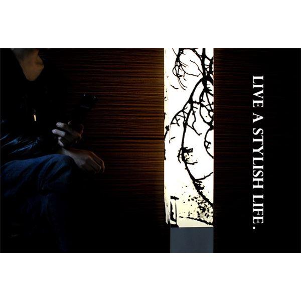 フロアライト(照明器具/スタンドライト) アジアンテイスト フットスイッチ付き 〔リビング/ダイニング/寝室/玄関/和室照明〕【電球別売】【代引不可】 送料無料!