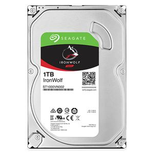Seagate Guardian IronWolfシリーズ 3.5インチ内蔵HDD 1TB SATA 6.0Gb/s5900rpm 64MB 送料無料!