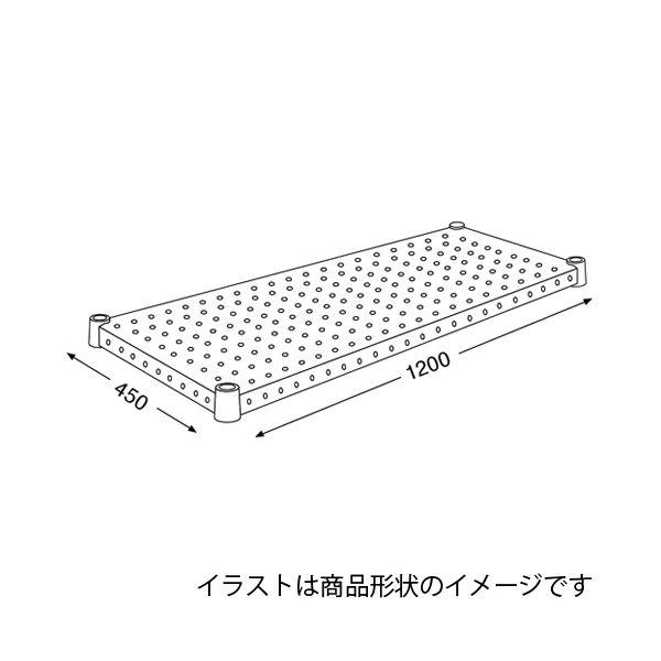 エレクター パンチングシェルフ H1848PS1 送料込!