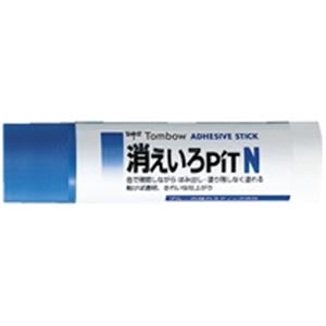 (業務用10セット) トンボ鉛筆 スティックのり消えいろピット PT-NC 20個 送料込!