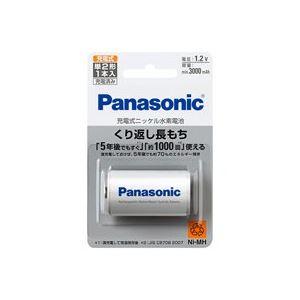 (業務用30セット) Panasonic パナソニック ニッケル水素電池単2 BK-2MGC/1 送料込!