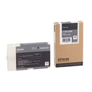 (業務用5セット) EPSON エプソン インクカートリッジ 純正 【ICBK54M】 ブラック(黒) 送料込!