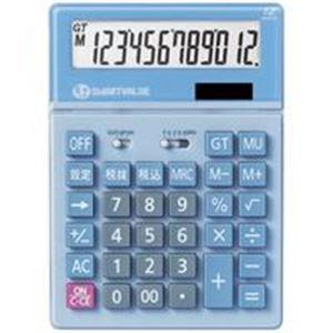 (業務用5セット) ジョインテックス 大型電卓 5台 ブルー K040J-5 送料込!