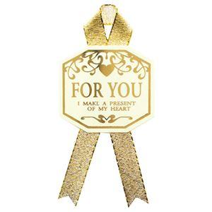 (まとめ) タカ印 ギフトシール For You タテ33×ヨコ36mm 22-912 1パック(16片:4片×4シート) 【×10セット】 送料込!