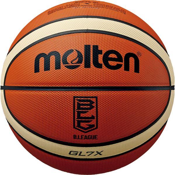 モルテン(Molten) バスケットボール7号球 GL7X Bリーグ公式試合球 BGL7XBL 送料込!